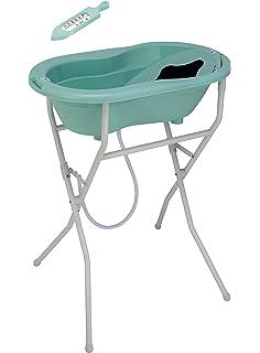 Rotho Babydesign 21036 0266 01 parte superior baño solución, sueco verde, juego de 5