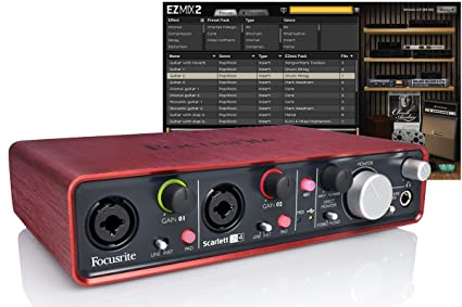 Amazon.com: Focusrite Scarlett 2i4 interfaz USB PLUS última ...