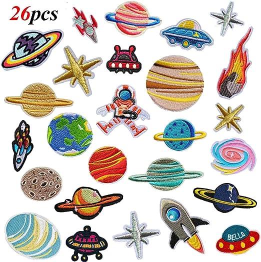 LAKIND 26 PCS Exquisitas Bricolaje Ropa Parches coser parches ...