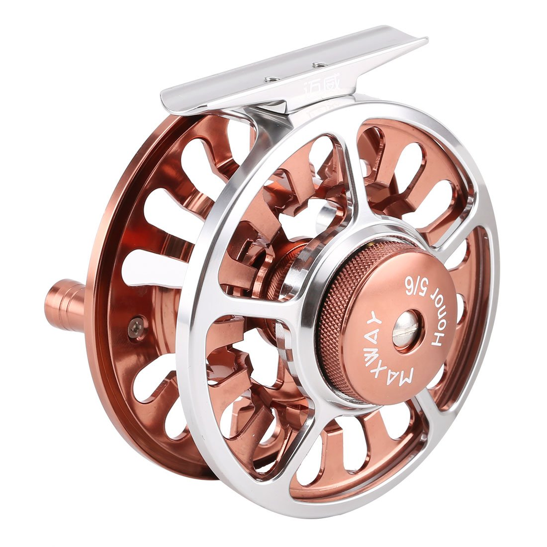 SeaKnight MAXWAY Honor Fly Reels Super Light 3BB Fly Fishing Reels CNC machined Aluminum Alloy Body Fishing Reel