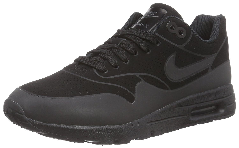 NIKE Women's Air Max 1 Ultra Essentials Running Shoe B000SD16O8 10 B(M) US|Black/Anthracite/Black