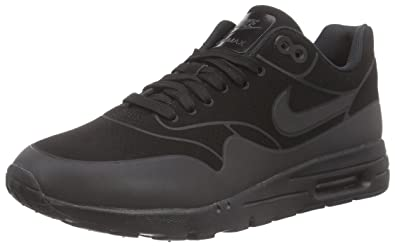 Nike WMNS AIR Max 1 Ultra Moire, Baskets Basses Femmes, Noir