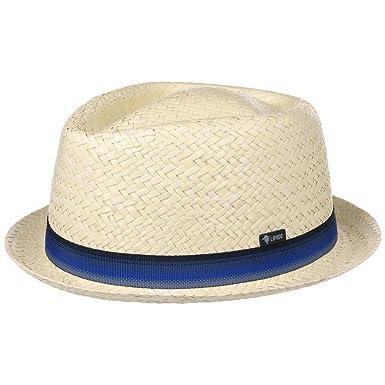 f0bd3ad7d69 Lipodo Diamond Crown Straw Hat Summer Fedora  Amazon.co.uk  Clothing