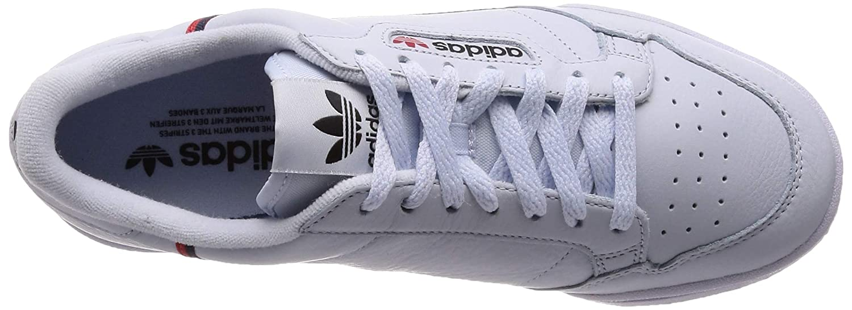 adidas Continental 80, Chaussures de Fitness garçon Bleu (Aeroaz/Escarl/Maruni 0)