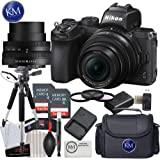 Nikon Z 50 Mirrorless Digital Camera with 16-50mm Lens and Advanced Striker Bundle: Includes: 2 x Memory Cards, Large Tripod, Cleaning Kit, and Large Camera Bag