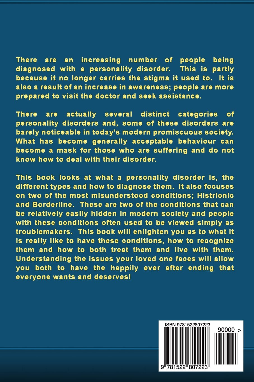 Workbooks borderline personality disorder workbook : Personality Disorders: Histrionic & Borderline - Personality ...