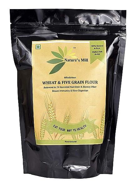 5 nutrients in flour