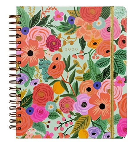 Amazon.com : 2020 Garden Party Spiral Bound Planner by Rifle ...