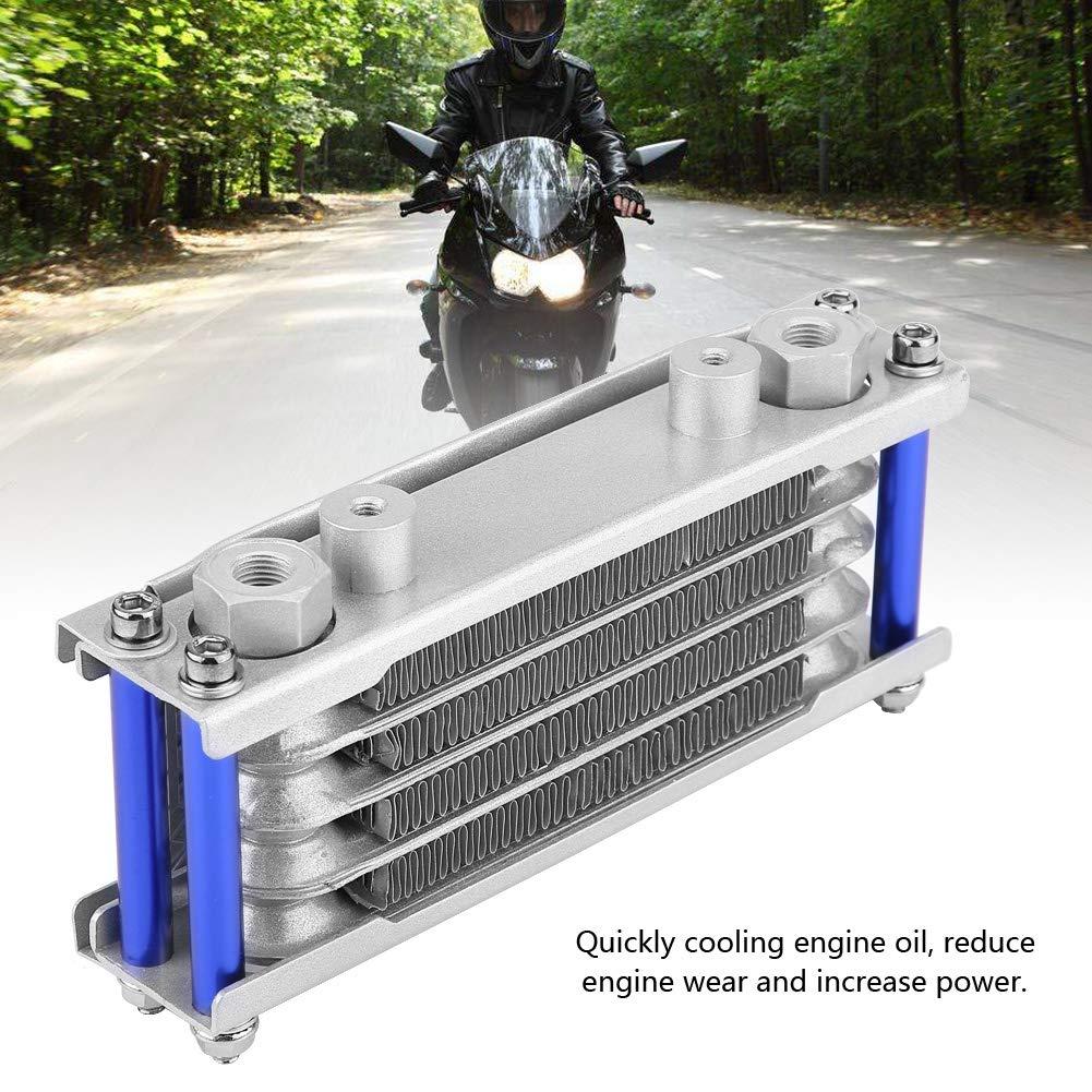 KIMISS 65ml Kit de Radiador de Enfriador de Aceite del Motor del Motocicleta para Suzuki 125CC 150CC 200C: Amazon.es: Coche y moto