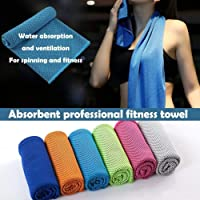 St. Lun Instant Relief Cooling ice Towel Microfiber Sweat Towel Sports/Fitness/Gym/Yoga
