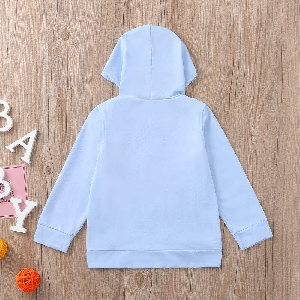 Kids Coat Unisex,Fineser Fashion Toddler Baby Boys Girls Cartoon Ants Print Hooded Tops Sport Coat Shirt Tracksuit Clothing