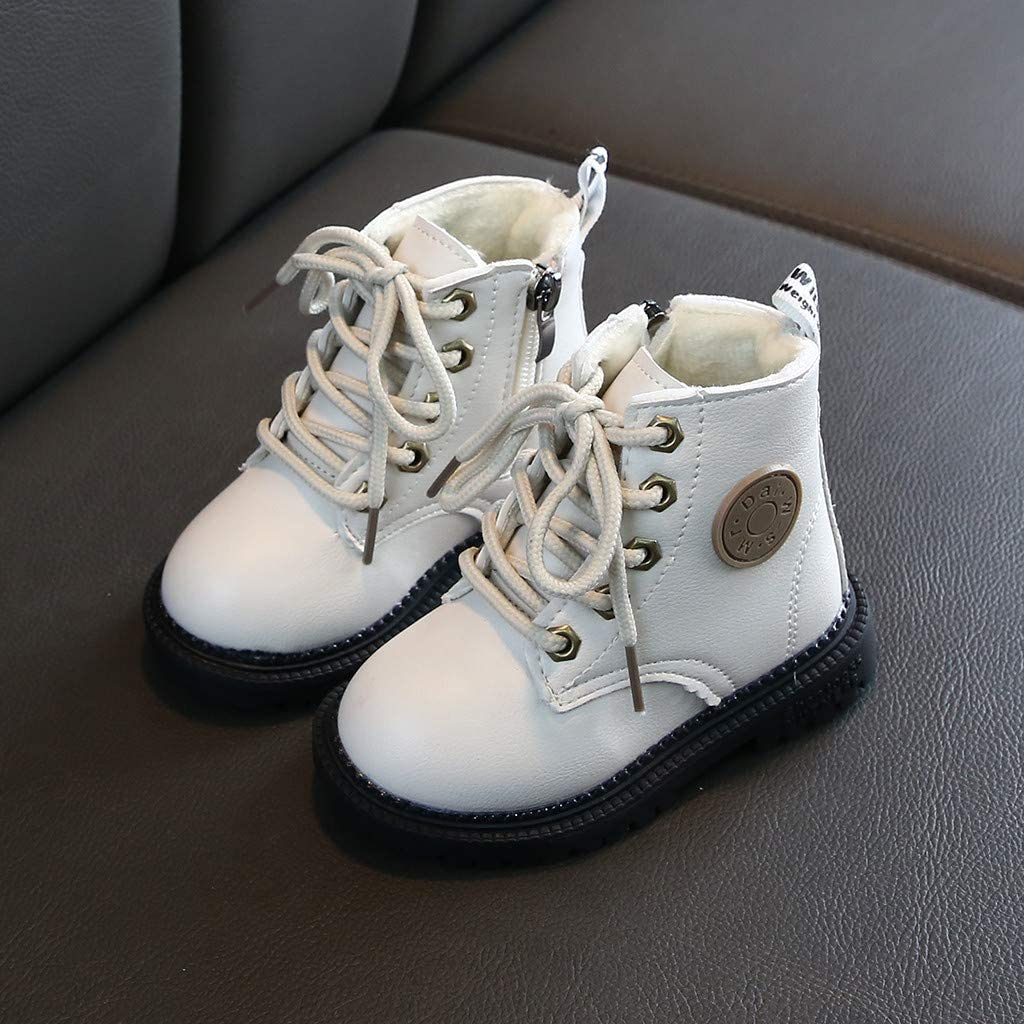 Baby Toddler Girls Boys Winter Ankle Boots Casual Shoes 1-8 Years Old Kids Fashion Sport Short Bootie