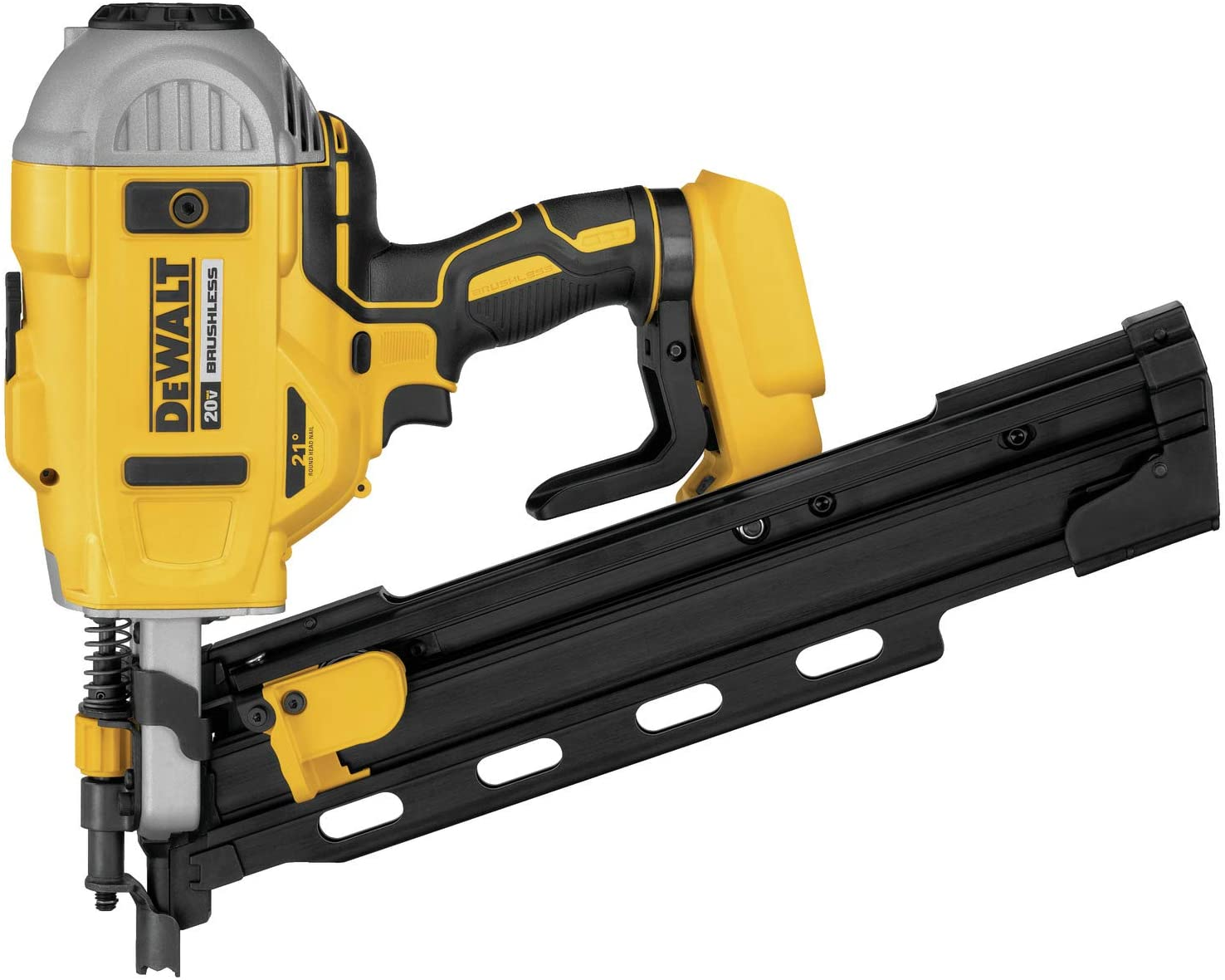 DEWALT DCN21PLB 20V MAX 21 Plastic Collated Cordless Framing Nailer Tool Only