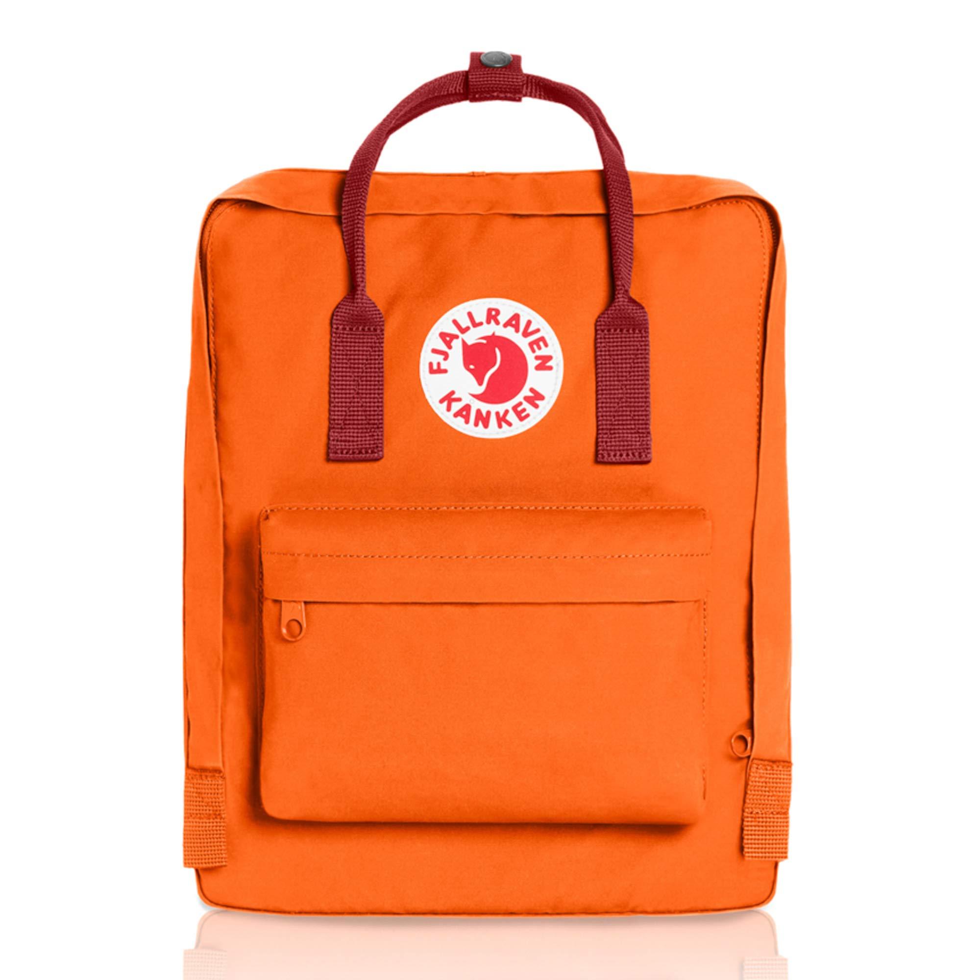 Fjallraven - Kanken Classic Backpack for Everyday, Burnt Orange/Deep Red