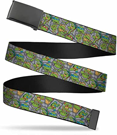 Buckle-Down Web Belt Ninja Turtles 1.25