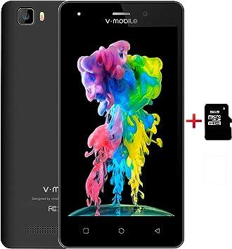 Moviles Libres 4G,10Pcs V Mobile A10 16GB Memoria 5 Pulgadas ...