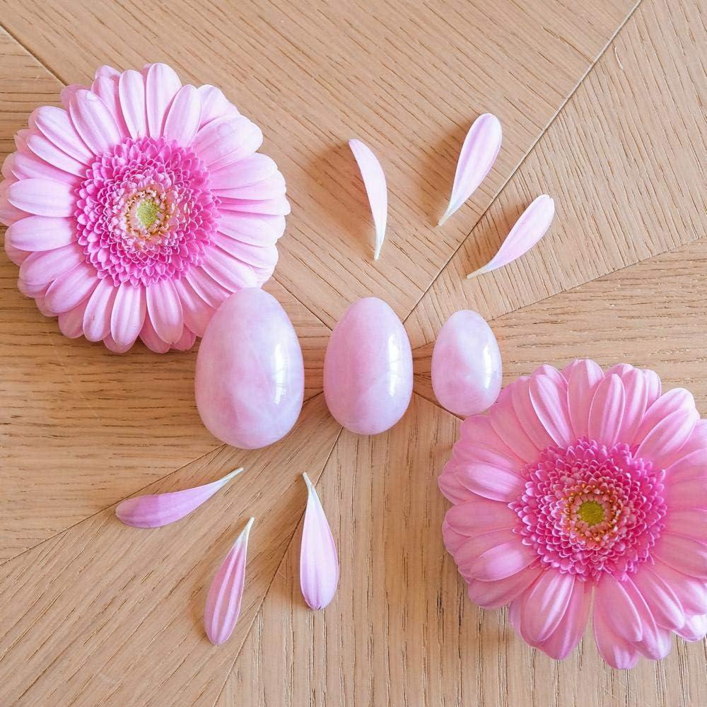 Photo de 3-oeufs-de-yoni-en-quartz-rose-non-troues