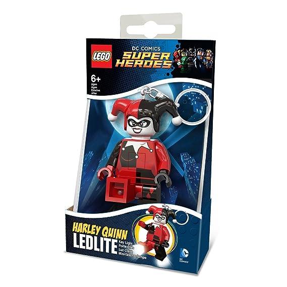 LEGO Harley Quinn Llavero LED,, única, Phaser ke81: Amazon ...