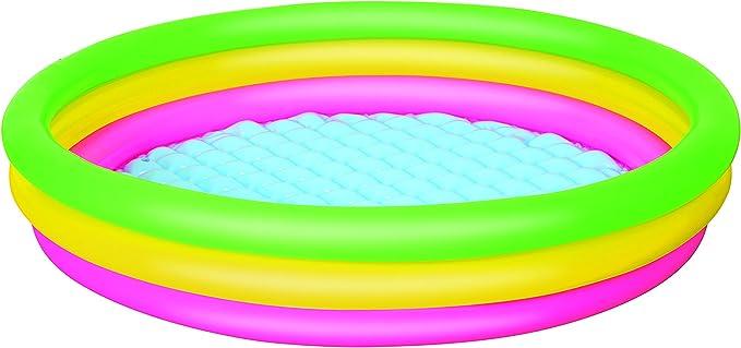 Bestway 51103B - Piscina Hinchable para niños (3 Anillos, 152 x 30 cm)