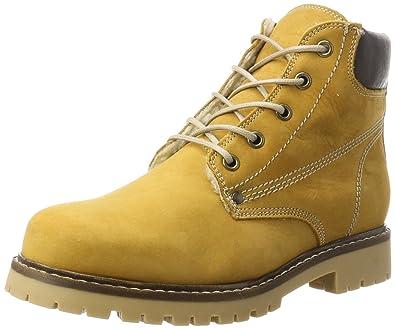 Bianco Warm Damen Warm Bianco Worker Chukka Stiefel, Gelb (Mustard), 37 EU  Amazon ... b015bc