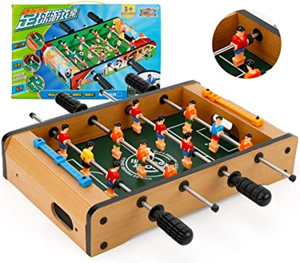 HHtoy Deluxe Mini Tablero de madera Fútbol Fútbol americano ...