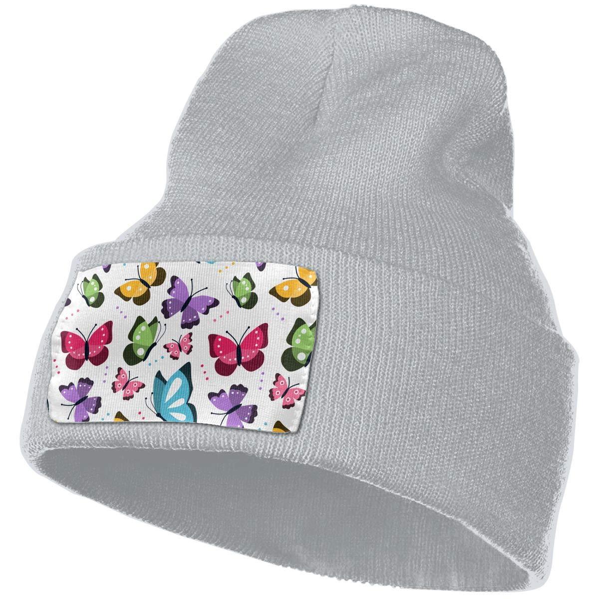 TAOMAP89 Men /& Women Skull Caps Winter Warm Stretchy Knit Beanie Hats