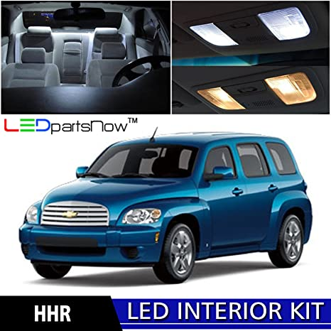 LEDpartsNow 2006 2011 Chevy HHR LED Interior Lights Accessories Replacement  Package Kit (11 Pieces