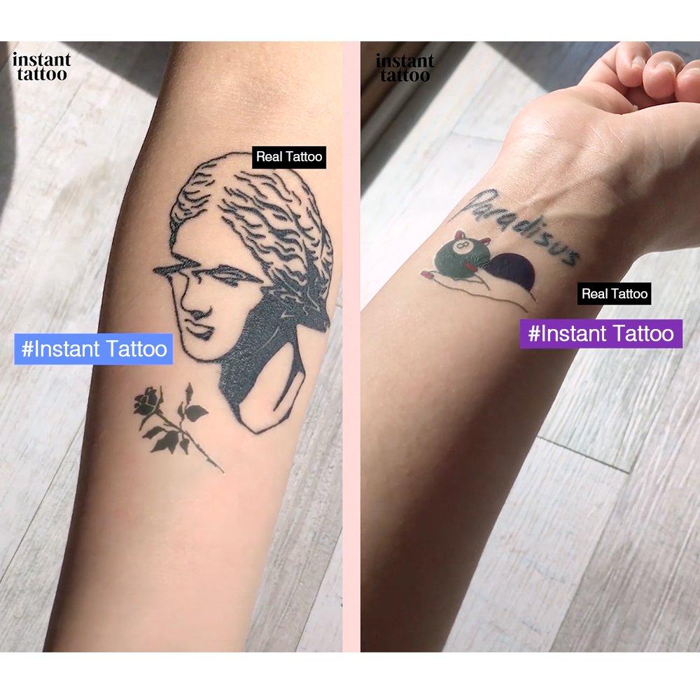 Instant Tattoo Nada más realista tatuaje tatuajes temporales ...