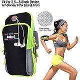 Keynicetm Brassard de sport, poches multifonctions Sport Running Armbag pour iPhone 6, 6Plus, 5, 5S, 5C, Galaxy S5, S4, S3, Note 234et tous les 3,5~ 14,7cm Smartphone