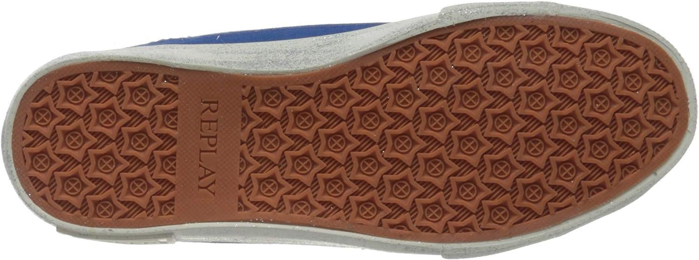 Replay Ever W-Welsey hoge sneakers voor dames Blauw Royal 48