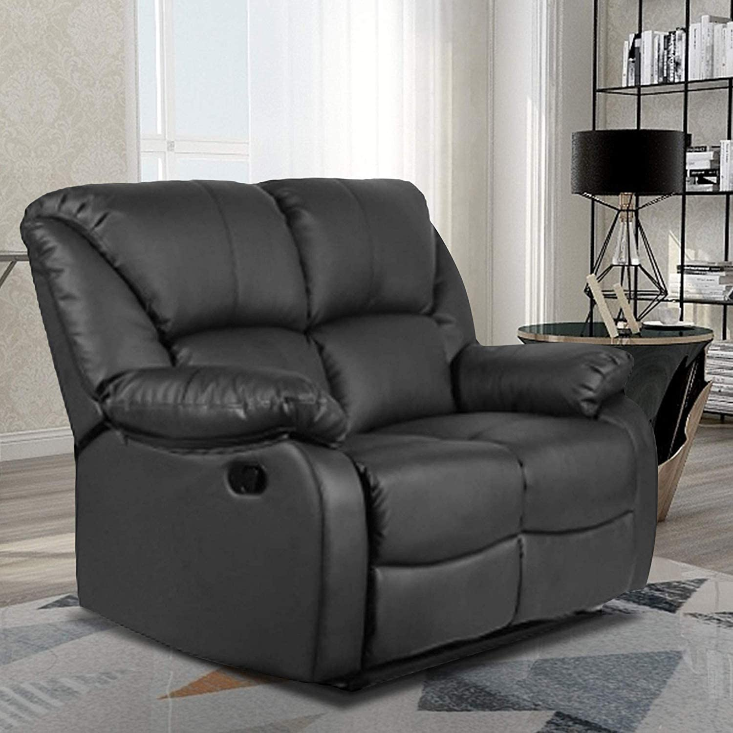 : Recliner Sofa for Living Room Leather Recliner