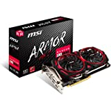 MSI RX 580 256-bit 8GB GDRR5 DirectX 12 VR Ready CFX Graphcis Card