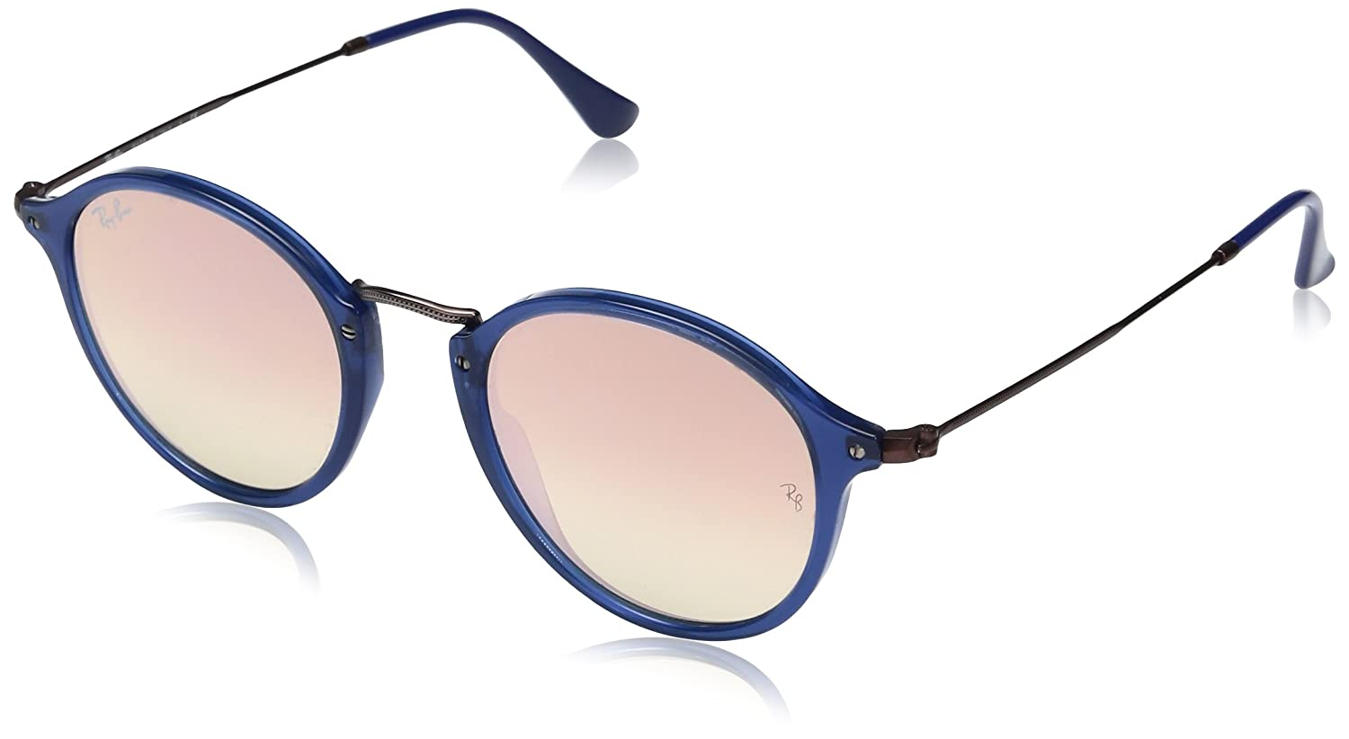 TALLA 49. Ray-Ban Sonnenbrille Round Flat Lenses (RB 2447N)