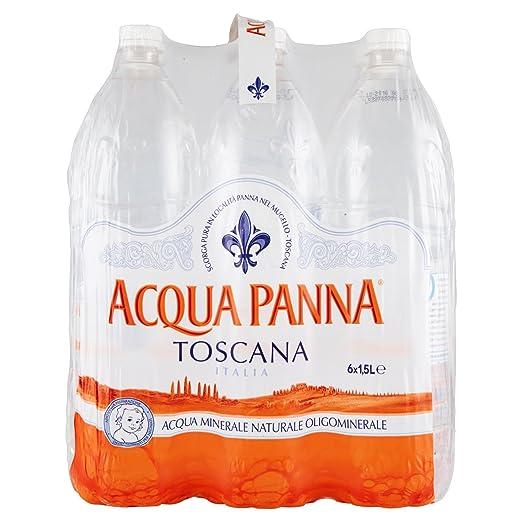 22 opinioni per Acqua Panna, Acqua Minerale Naturale 1.5L (Confezione da 6)