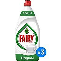 Fairy Original Dish Washing Liquid Soap, Triple Pack, 3 x 750 ml