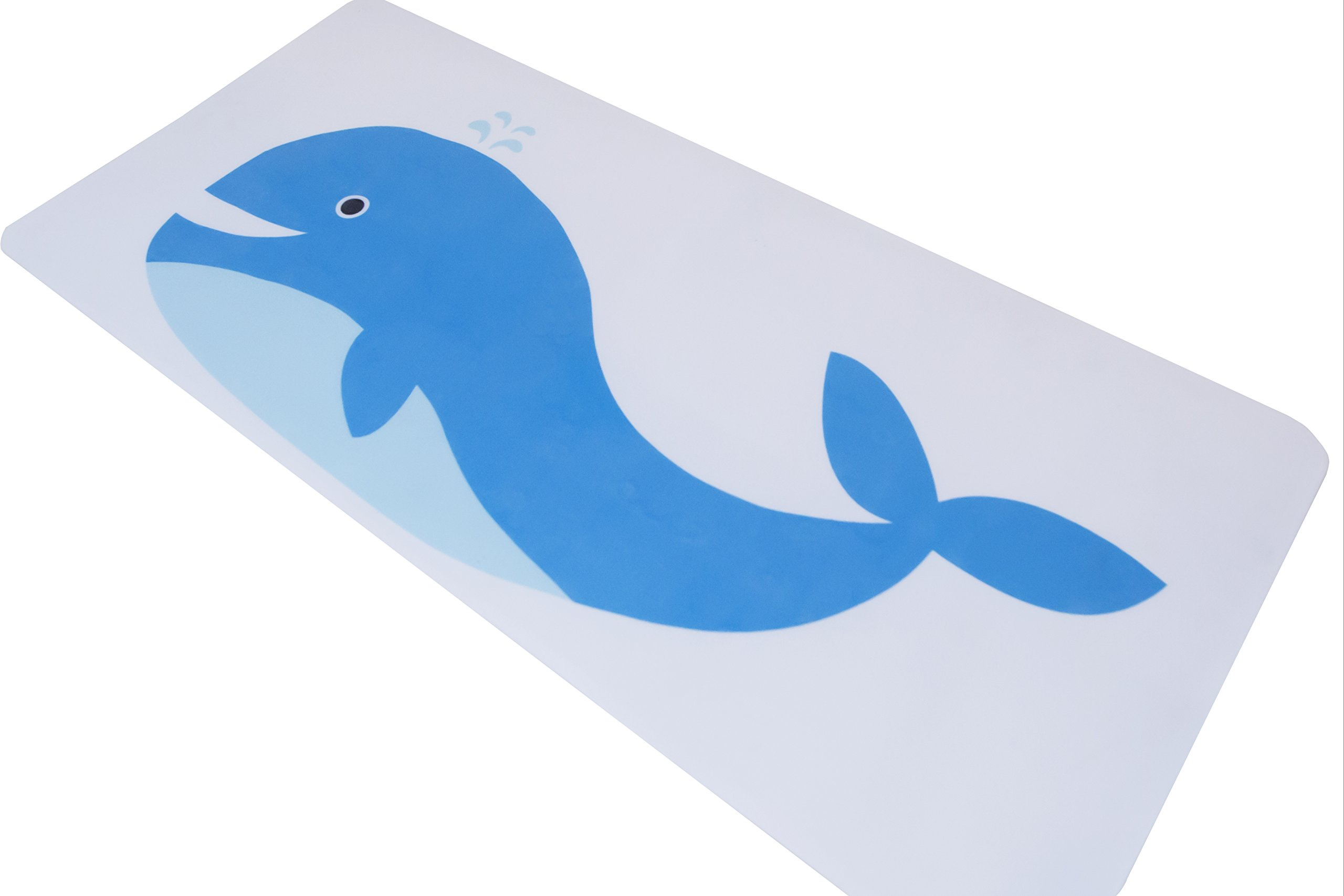 Simple Lines Company Baby Non-Slip Bath Mat (Whale) by Simple Lines Company