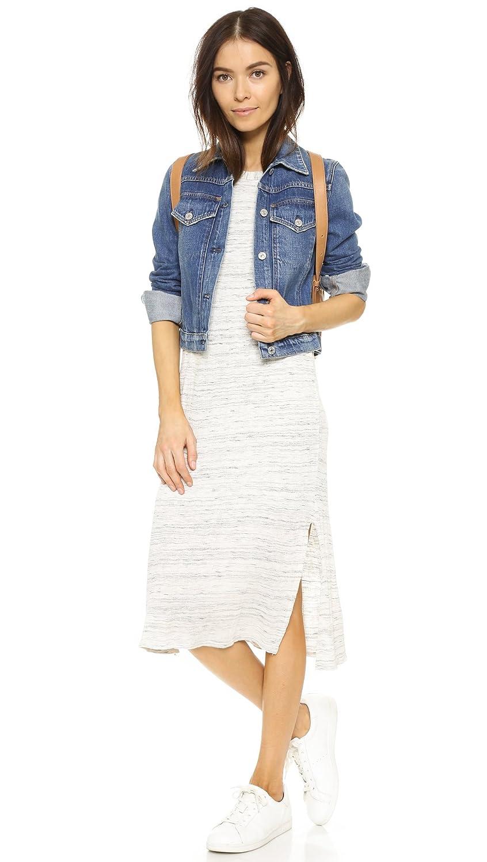 Splendid Womens High-Neck Column Dress