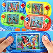 Adoeve Water Ring Game Machine Children Educational Toy Handheld Game Machine Wind-Up Toys