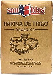 San Blas Harina de Trigo Orgánica, 800 g