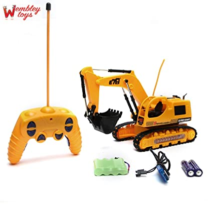 Buy Wembley Toys Wireless Remote Control Jcb Excavator With Lighting