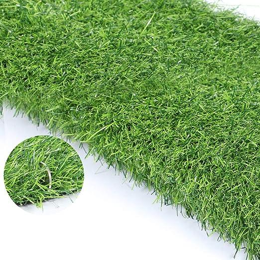 Al aire libre Alfombra de césped artificial realista Jardín de mascotas Campo de césped Perfecto for paisajes interiores y exteriores, Verde, Espesor: 30 mm (Color : 30mm, Size : 7mX2m): Amazon.es: Jardín
