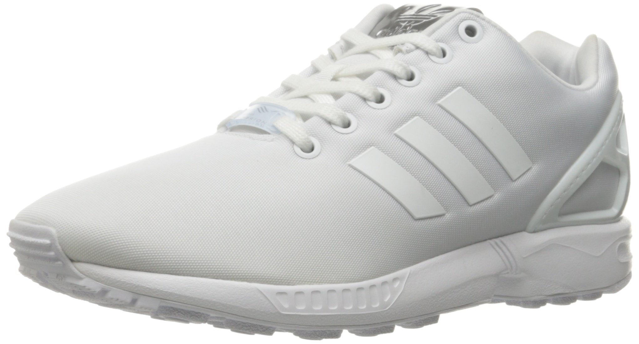 low cost c51bf fa602 adidas Originals Women's Shoes   ZX Flux Fashion Sneakers, White, (8.5 M US)