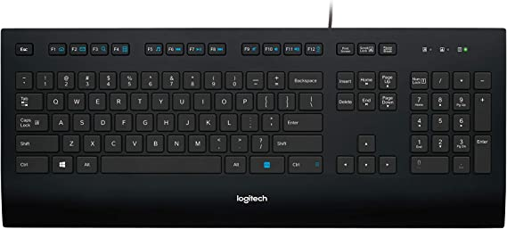 Logitech K280e PRO Corded Keyboard for Business