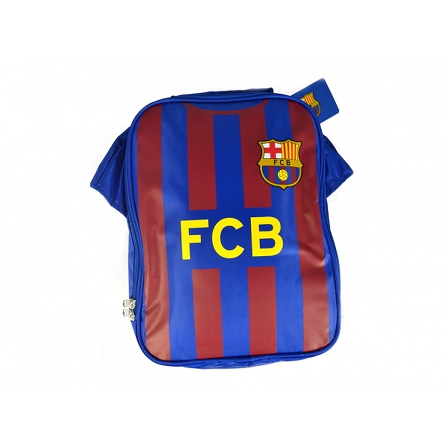 Amazon.com : FC Barcelona Official Soccer Kit Lunch Bag (One Size) (Red/Blue) : Sports & Outdoors
