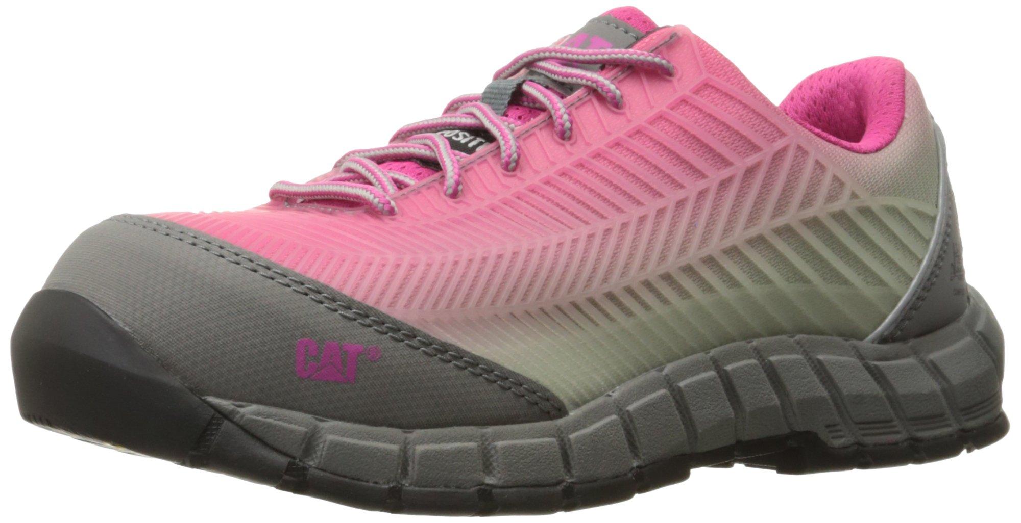 Caterpillar Women's Array Comp Toe Work Shoe, Pink, 8 M US