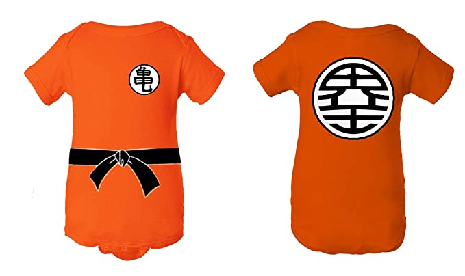 176ff7af A Tee Tee Monster Baby Dragon Ball Z Goku Inspired Onesie (6 month)