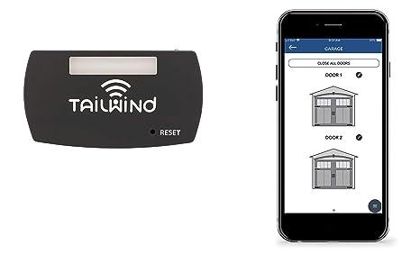 Tailwind iQ3 Smart WiFi Garage Door Opener - Internet Enabled Garage Door  Remote Control Compatible with Your Smartphone, Alexa, Google Home, and  Siri