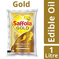 Saffola Gold, Pro Healthy Lifestyle Edible Oil, 1 L Pouch