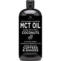 Premium MCT Oil made only from Coconuts - 32oz BPA free bottle & Non GMO. Keto, Paleo, Gluten Free and Vegan Diet Approved by Radha Beauty