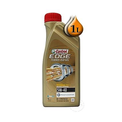 Castrol EDGE Turbo Diesel 5 W-40 de titanio Fst 1Lb